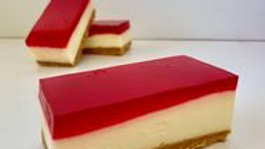 Jelly Cheesecake Slice 10 Pack