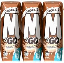 M2GO Chocolate UHT Milk 250ml x 6
