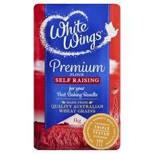 White Wings Premium Self Raising Flour 1kg