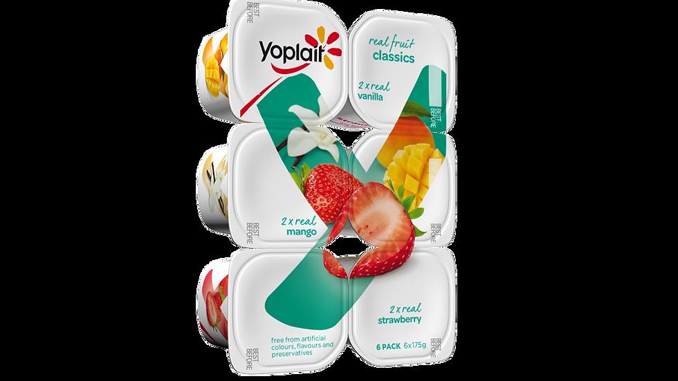 Yoplait Classics 160g x6