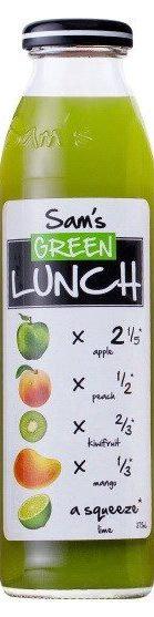 Sam's Juice Green Lunch 375ml