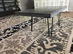 Modern Hairpin Concrete Table Issaquah.j