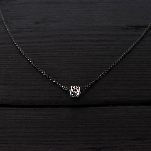 """Collier petit anneau """"Chaîne"""" argent 925"""