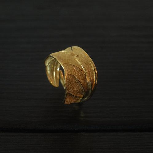 Bague Aile de scarabée Vermeil