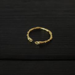 Ring Paws Vermeil