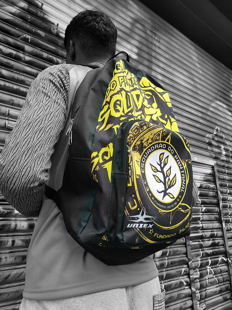 mochila personalizada viagem