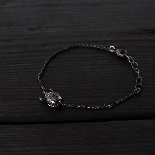 Bracelet petit Scarabée argent 925