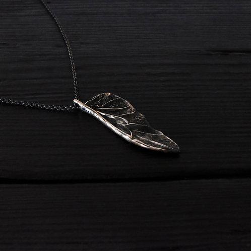 Collier petite aile Scarabée argent 925