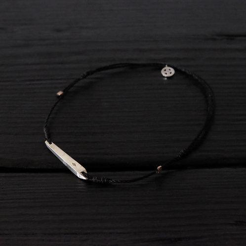 """Bracelet """"Quartz"""" argent 925"""