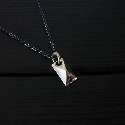 """Collier """"Quartz diamant"""""""