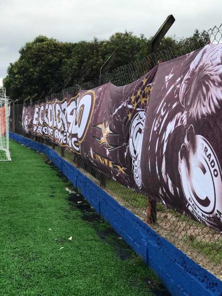 faixa de futebol