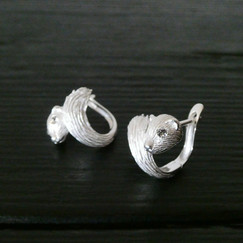 Boucles d'oreilles Mink