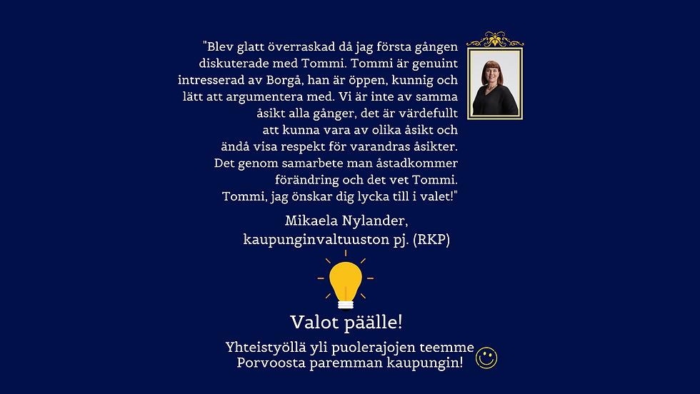 Kuntavaalit21 - Nettisivujen suositteluo