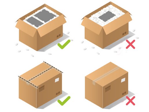 ¿Cómo empacar tus envíos?