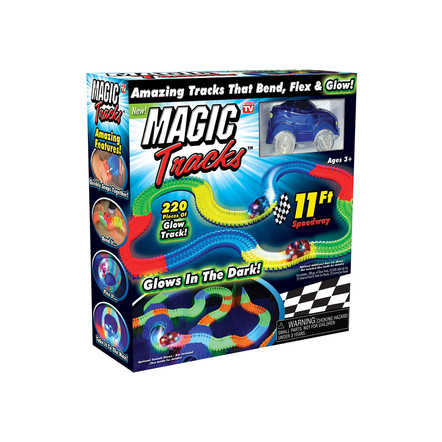 Magic Tracks Pista de Carros 220 piezas