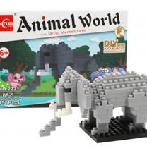 Figura armable tipo lego animales
