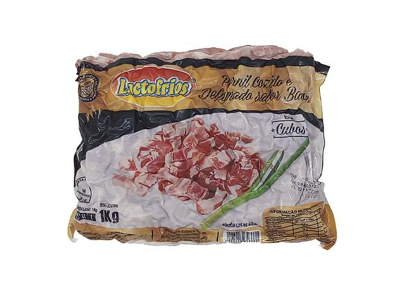 BACON EM CUBOS LACTOFRIOS 1 KG