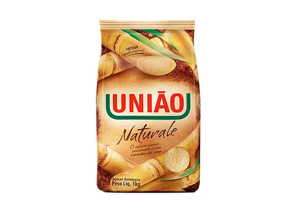 AÇÚCAR DEMERARA NATURALE UNIÃO 1 KG