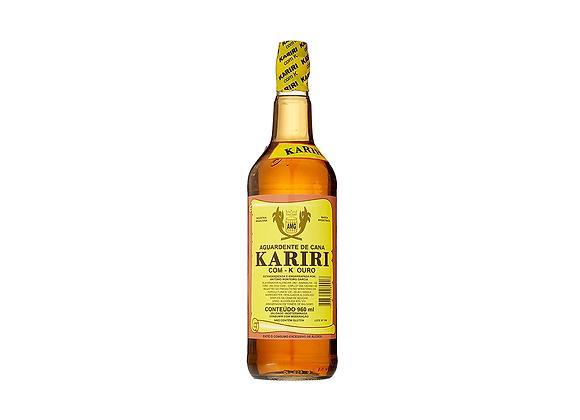 AGUARDENTE DE CANA KARIRI 960 ML