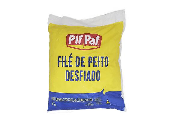 FILÉ DE PEITO COZIDO CONGELADO DESFIADO PIF PAF 4 KG