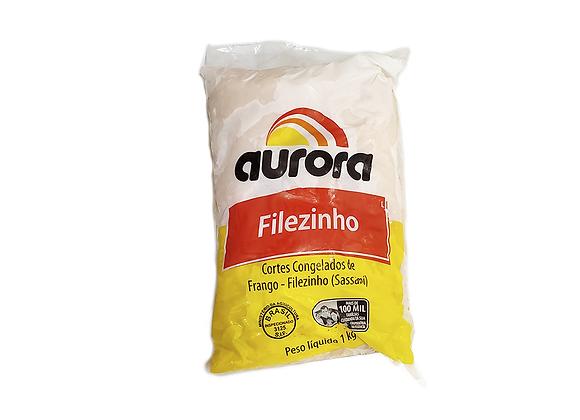 FILEZINHO SASSAMI DE FRANGO CONGELADO AURORA 1 KG