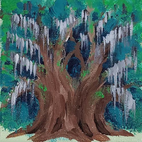 Angel Oak and Spanish Moss