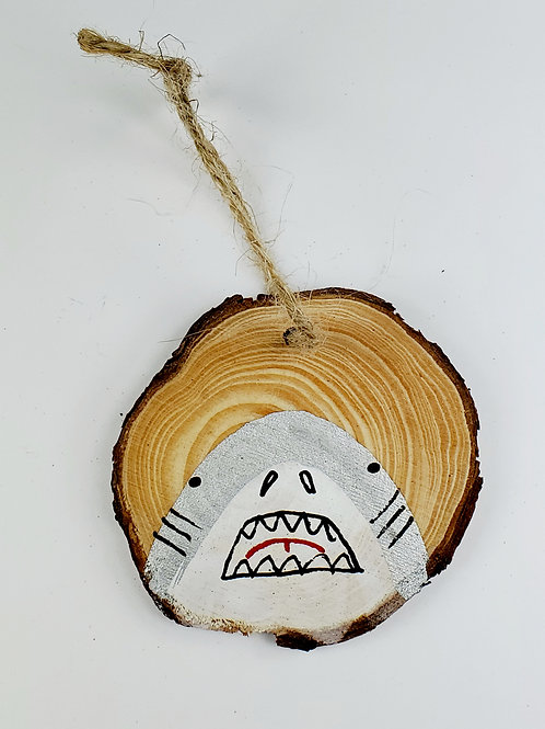 Shark Wooden Ornament