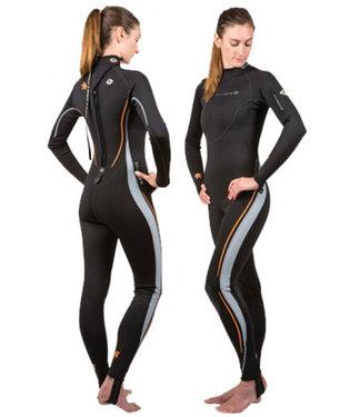 Lavacore Women's Back Zip Full Suit - 10