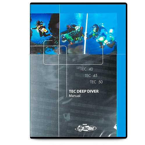 PADI Tec Deep Diver Manual - DVD