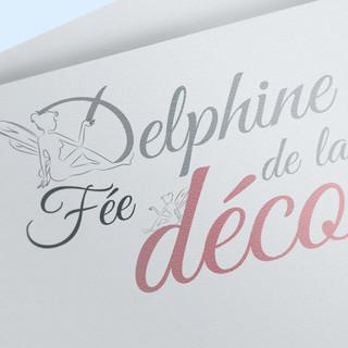 Logo Delphine Fée de la Déco