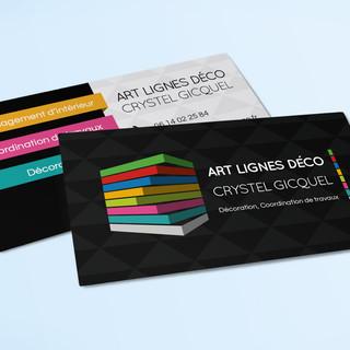 Carte de Visite Art Line Deco