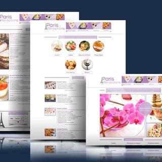 Site Internet Paris Réception