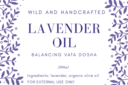 LAVENDER INFUSED OIL  200ml
