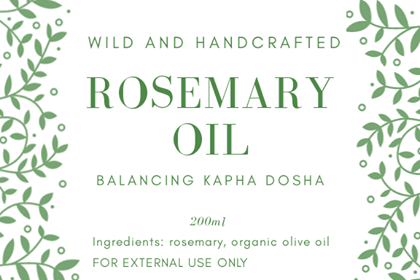 ROSEMARY INFUSED OIL  200ml