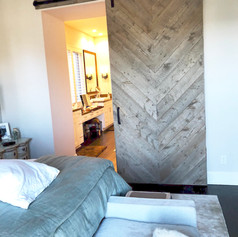 herringbone grey barn board