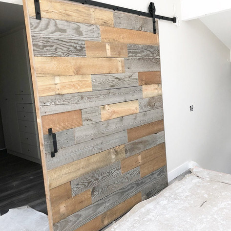 reclaimed wood planks
