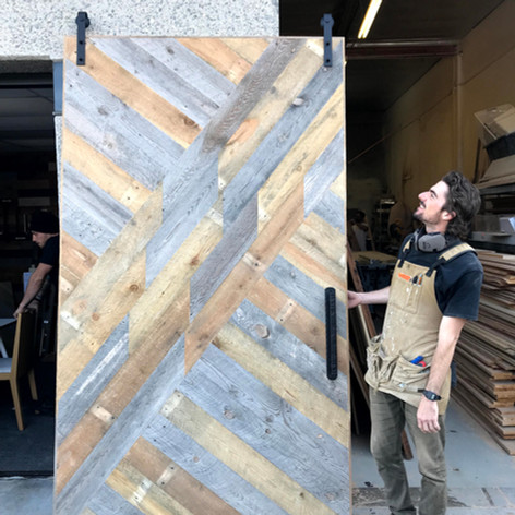 reclaimed wood custom design