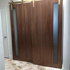 Walnut door