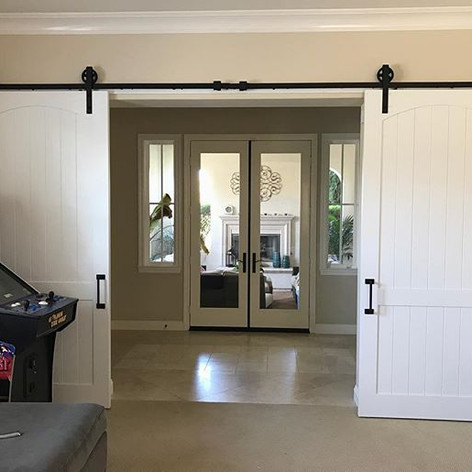 Every game-room needs some barn doors...