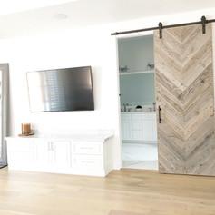Reclaimed wood Huntington design