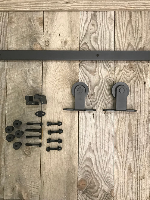 Cromwell Top Mounted Sliding Barn Door Hardware