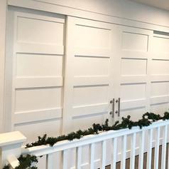 Installed these custom built doors for o
