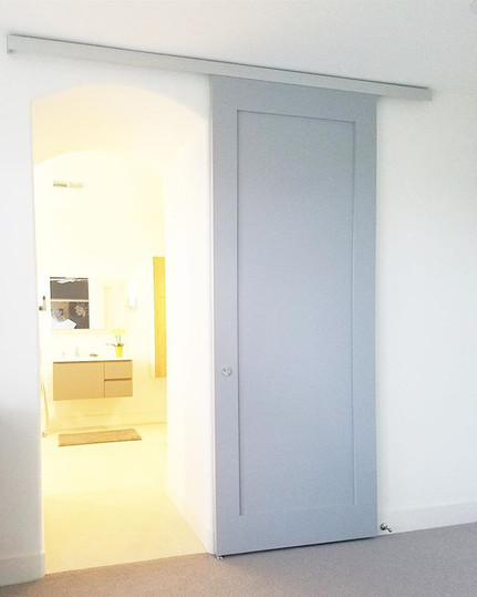 Check out this ultra modern door we buil