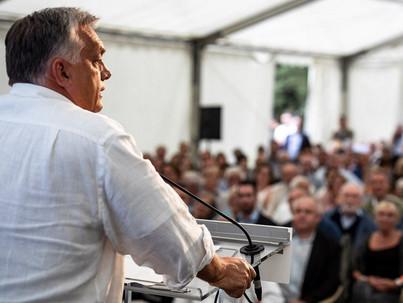 Melegek örökbefogadásáról is beszélt Orbán Kötcsén