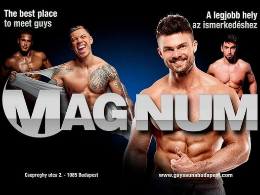 Tomboló szexuális vágyak a Magnum szaunában