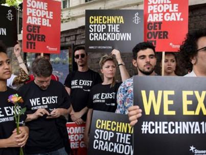 A leszbikus és transz nőket is üldözik Csecsenföldön