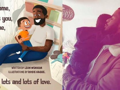 Egy fekete meleg apuka mesekönyvet írt kisfiának