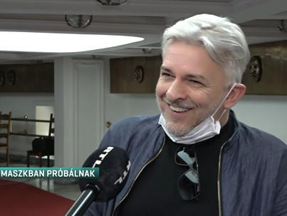 Szegeden próbál Alföldi Róbert
