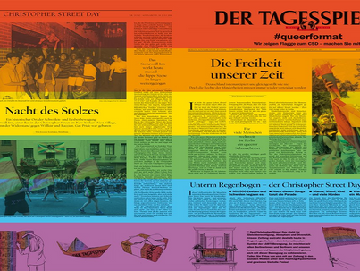 Meleg kiadással jelent meg a Der Tagesspiegel