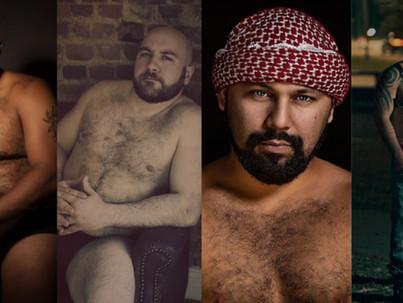 Valódi férfiak klasszikus portréi